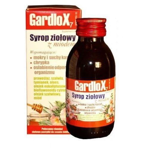 Syrop GARDLOX syrop ziołowy z miodem 120ml