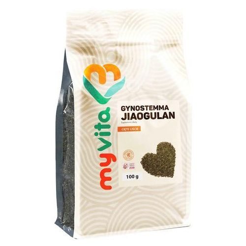 Gynostemma Jiaogulan, Cięte Liście, MyVita, 100g - Super oferta