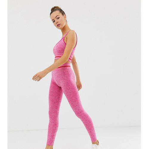 d538d653d2 Zobacz w sklepie Seamless leggings in pink and red - pink South beach