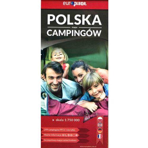 Polska mapa Campingów 1:750 000, Euro Pilot