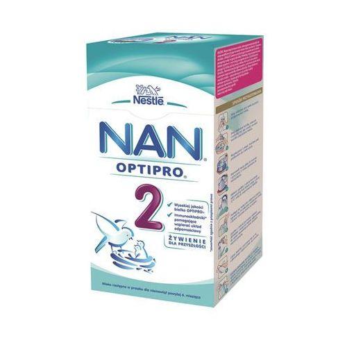Nestle optipro 2 350g mleko następne dla dzieci powyżej 6 miesiąca karton Nan