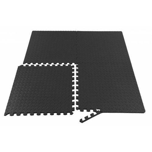 Mata puzzle do ćwiczeń pod sprzęt 4szt 61x61 x 1cm Apt
