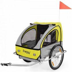 Przyczepka rowerowa transportowa 2 osobowa