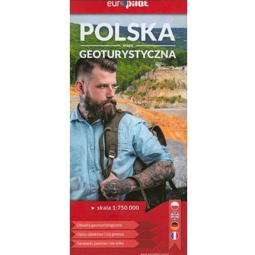 Polska mapa geoturystyczna Europilot 1:750 000 (wyd. 2019) - Praca zbiorowa (2 str.)
