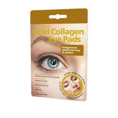 Gold collagen eye pads - kolagenowe płatki pod oczy ze złotem x 1 komplet Glyskincare