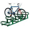 Procity Stojak rowerowy dwupoziomowy  6 stanowisk powierzchnia ocynkowana ogniowo  Stojak rowerowy