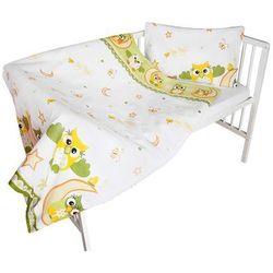 Cosing 2-częściowy zestaw pościeli dziecięcej comfort - sowa, zielony