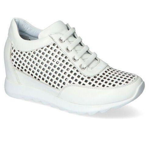 Venezia Sneakersy 05845007 białe lico