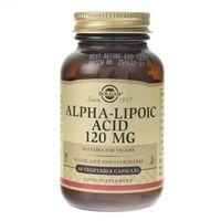 Kapsułki Solgar Kwas Alfa Liponowy 120 mg - 60 kapsułek
