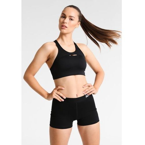 b2e2e1c938d57b Nike Performance PRO CLASSIC MODERN BRA Biustonosz sportowy black/white,  kolor czarny - 2