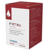 Proszek F-Vit B12 Witamina B12 Metylokobalamina 500mcg 60 porcji 48g ForMeds