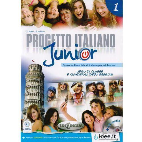Progetto Italiano Junior 1 Podręcznik + Ćwiczenia + Cd, Marin, Telis / Albano, A.