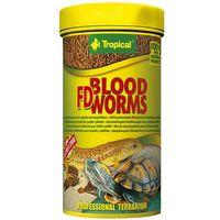 Tropical fd blood worms - liofilizowane larwy ochotki dla gadów i płazów 100ml/7g (5900469111437)