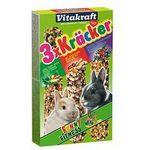 Vitakraft Kracker 3szt Królik Mix - Warzywa/Orzechy/Owoce leśne 168g [25227]
