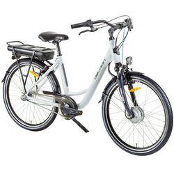 """Devron Miejski rower elektryczny 26120 26"""" - model 2017, biały, 18"""""""