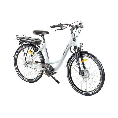 """Miejski rower elektryczny 26120 26"""" - model 2017, champagne, 18"""" marki Devron"""