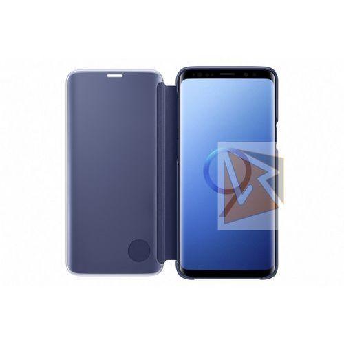 Samsung Galaxy S9 Clear View Standing Cover EF-ZG960CL (niebieski) (8801643098452)