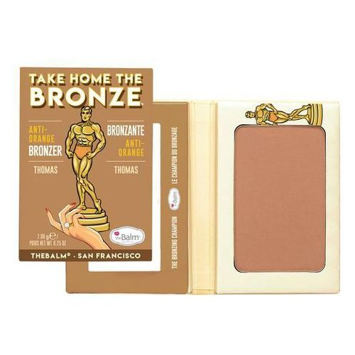 TheBalm Take Home the Bronze Anti-Orange Thomas | Bronzer w naturalnym odcieniu 7g - Super oferta