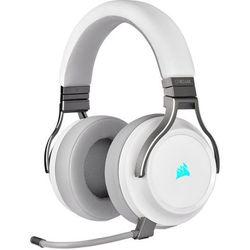 słuchawki do gier virtuoso rgb, biały marki Corsair