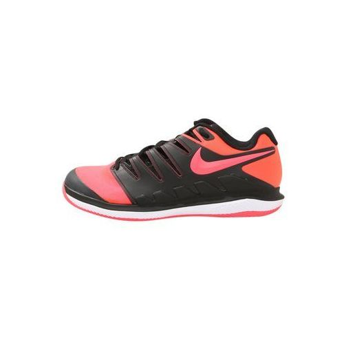 Nike Performance AIR ZOOM VAPOR X CLAY Obuwie do tenisa Outdoor black/solar red/white
