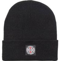 czapka zimowa INDEPENDENT - T/C Label Beanie Black (BLACK)