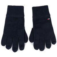 Rękawiczki Męskie TOMMY HILFIGER - Pima Cotton Gloves AM0AM05179 CJM