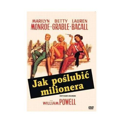 Jak poślubić milionera (DVD) - Jean Negulesco DARMOWA DOSTAWA KIOSK RUCHU (5903570137624)