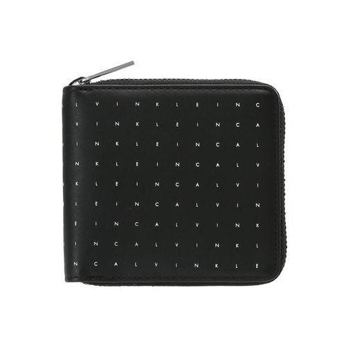 Calvin Klein GRID ZIPAROUND Portfel black, K40K400015