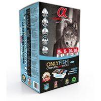 ALPHA SPIRIT Only Fish 9,45kg (45x210g) + 8 NAKLEJEK PROMOCJA bez zbóż (8437013576376)