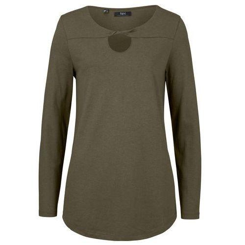 Shirt z długim rękawem czarny, Bonprix, 36-38