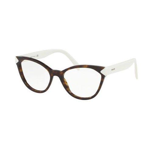 Okulary korekcyjne pr02tv 2au1o1 marki Prada