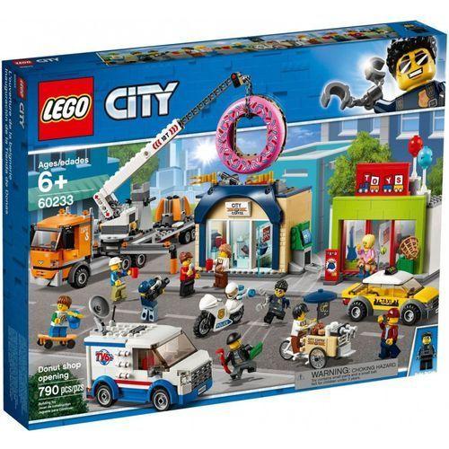 60233 OTWARCIE SKLEPU Z PĄCZKAMI (Donut shop opening) KLOCKI LEGO CITY rabat 5%