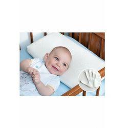 Poduszka dla niemowląt MEMO 50x26 Biały TDDPM - odbiór w 2000 punktach - Salony, Paczkomaty, Stacje Orlen