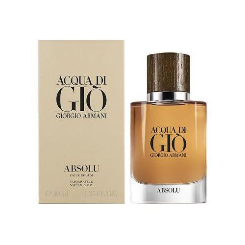 Giorgio Armani Acqua Di Gio Men 40ml EdT - BEZPŁATNY ODBIÓR: WROCŁAW