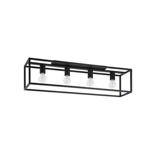 Lampa Sufitowa Eldrick Czarna 4 X E27 Eglo Recenzje Opinie Ceny Lepsze Od Ikea Iktrans Pl