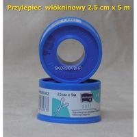 Przylepiec włókninowy 2.5 cm x 5 m (plaster bez opatrunku) marki Tzmo, polska