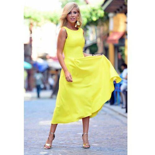 Sukienka MONICA YELLOW