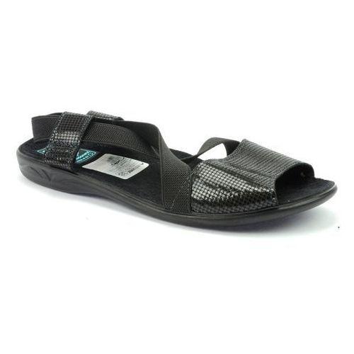 Pantofle Adanex 21461 czarny, w 2 rozmiarach