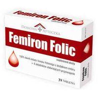 Tabletki FEMIRON FOLIC x 72 tabletki