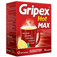 GRIPEX Hot MAX x 8 saszetek