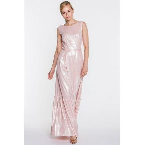 d408205c5a Welurowa sukienka w kwiaty (Studio Mody Francoise) - sklep ...