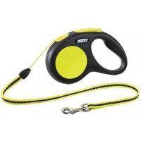 FLEXI Smycz Neon S - 5m do 12kg - linka - S - 5m do 12kg