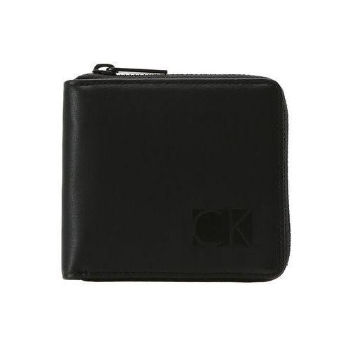 Calvin Klein HIPROFILE ZIPAROUND COIN Portfel black