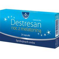 Kapsułki Destresan noc z melatoniną x 24 kapsułki