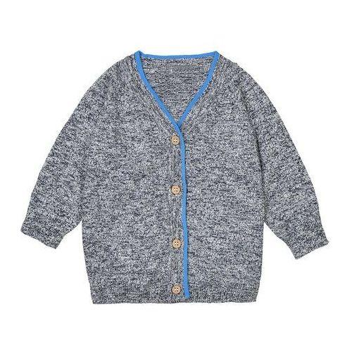 La redoute collections Sweter rozpinany, dekolt v - 1 mies. - 3 lata, oeko tex