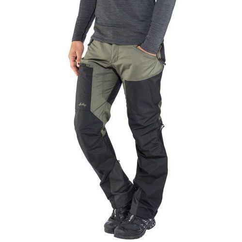 Lundhags Antjah II Spodnie długie Mężczyźni czarny/oliwkowy EU 46   XS 2018 Spodnie turystyczne, kolor zielony