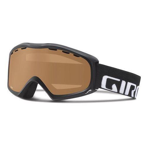 Gogle narciarskie signal black wordmark/polarized rose Giro