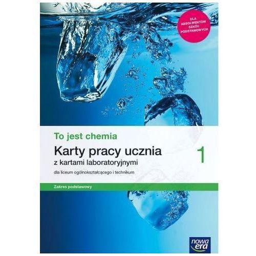 Chemia LO 1 To jest chemia KP ZP w.2019 NE - Aleksandra Kwiek,elżbieta Megiel, oprawa broszurowa