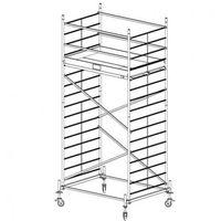 Rusztowanie aluminiowe protec xxl 5,3 m marki B2b partner