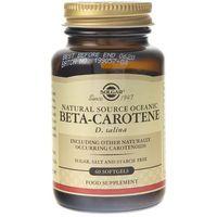 Kapsułki Solgar Naturalny Beta Karoten 7 mg - 60 kapsułek